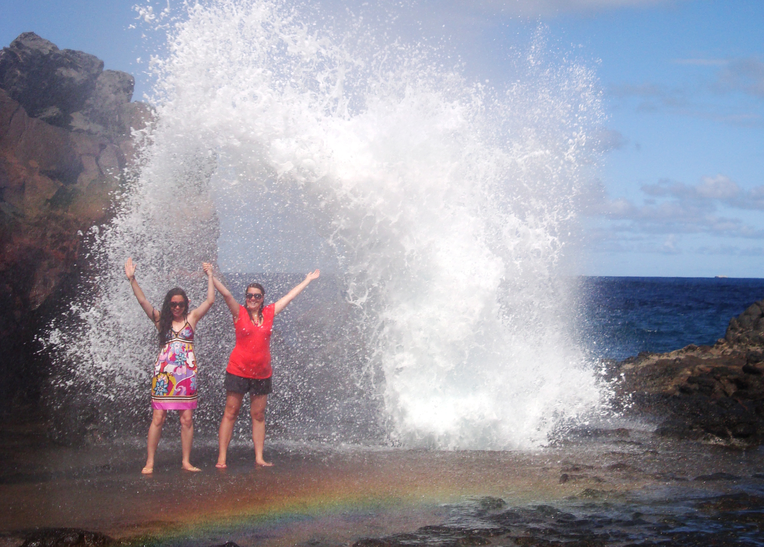 Blowhole in Hawaii
